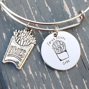 Jewelry - Fries before guys expandable charm bracelet